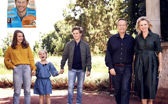 Bill and Chloe Shorten reveal the ups and downs of a blended family