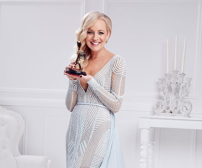 Carrie is a Gold Logie winner and adored by the nation.