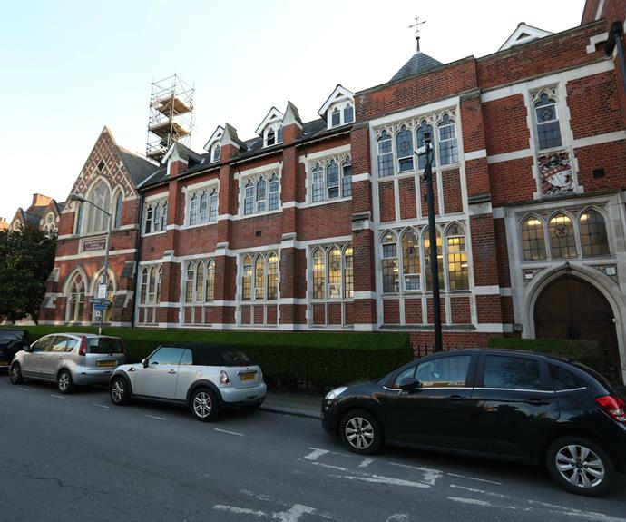 A exterior shot of the elite south west London school.