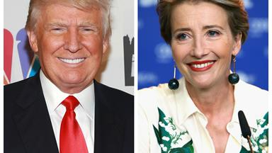 Emma Thompson reveals Donald Trump asked her on a date