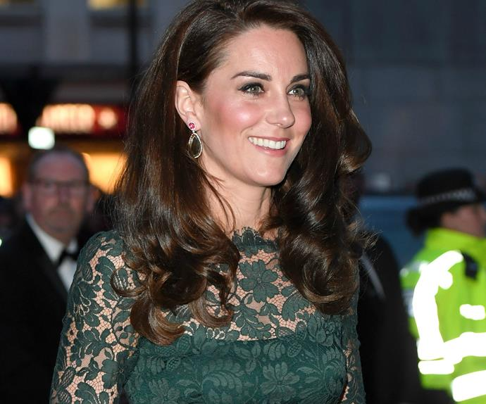 Duchess of Cambridge, National Portrait Gallery gala
