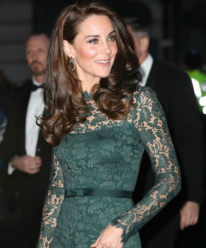 During her latest outing, the Duchess of Cambridge spoke affectionately about her son.