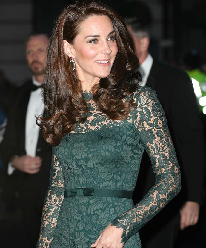 The Duchess rubbed shoulders with the likes of Alexa Chung and Sophie Ellis-Bextor while at the prestigious event.