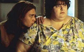 Darlene Cates and Johnny Depp