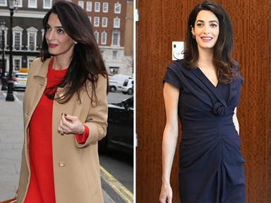 Amal Clooney's maternity wardrobe was even better than her honeymoon collection