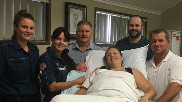 "Cyclone Debbie: Baby girl delivered ""safe and dry"" amid storm"