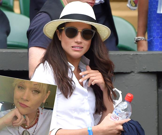 Samantha (inset) has been very vocal about her sister, ever since news she was dating Prince Harry broke back in 2016. *(Images: Getty Images/Instagram)*