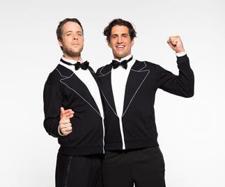Hamish Blake and Andy Lee