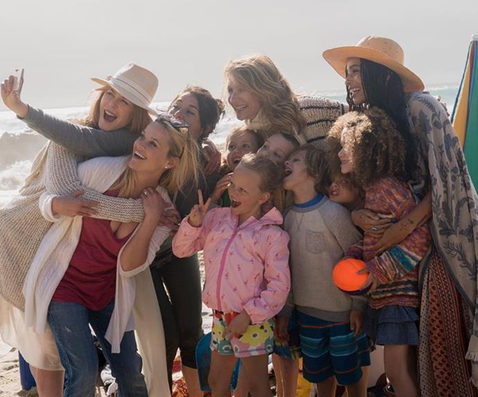 The cast of HBO mini series Big Little Lies