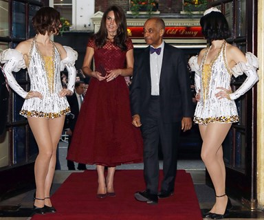 The Princess and the Showgirls: Duchess Catherine's musical night out