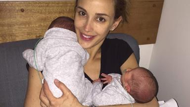 """Worst thing I've ever done!"" Rebecca Judd on her caesarean birth"