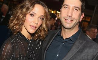 David Schwimmer and wife Zoe Buckman