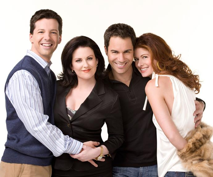 The cast of Will And Grace.