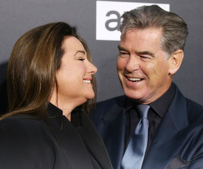 Pierce remarried in 2001 to Keely Shaye Smith.