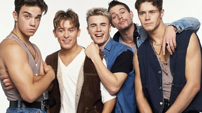 Take That, Robbie Williams, Gary Barlow, Jason Orange, Howard Donald, Mark Owen