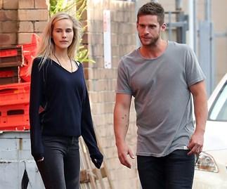 Isabel Lucas and Dan Ewing