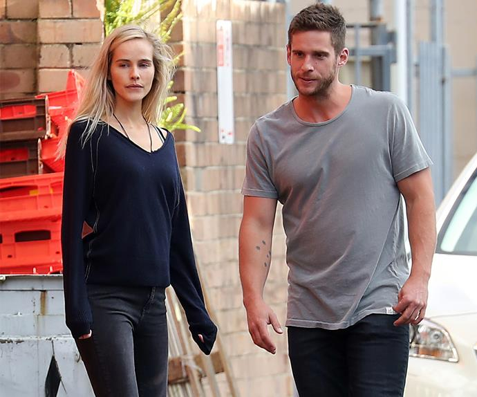 Isabel Lucas and Dan Ewing