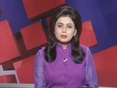 Newsreader finds out her husband's been killed, live on TV