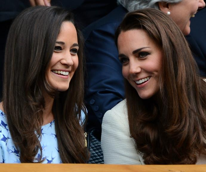 Kate is reportedly very close to her younger sister, Pippa.
