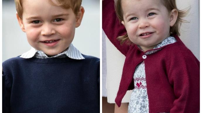 Prince George, Princess Charlotte