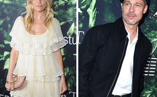 Brad Pitt, Sienna Miller