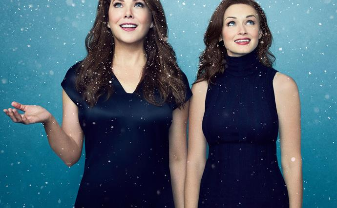 Lauren Graham and Alexis Bledel in Gilmore Girls: A Year In The Life