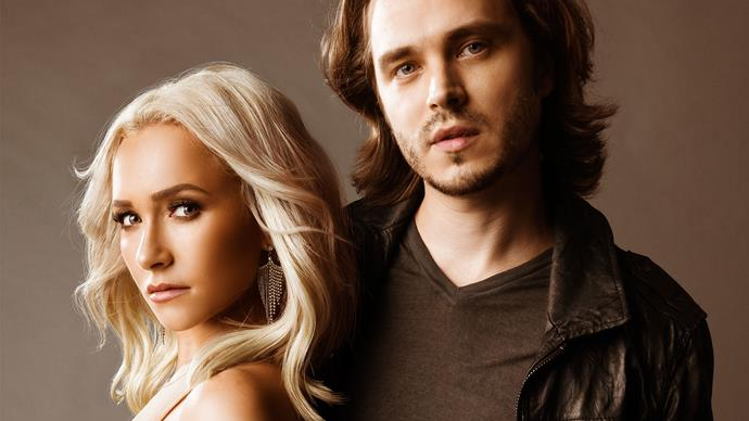 Hayden Panettiere and Jonathan Jackson of Nashville