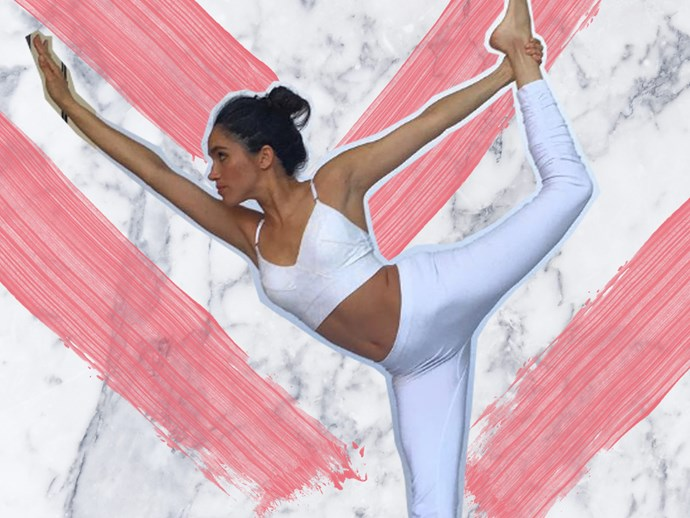 If it's good enough for Meghan, we'll give yoga a try!