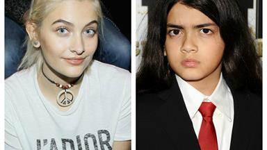 "Paris Jackson is ""deeply concerned"" about her brother Blanket"