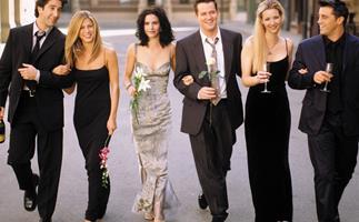 Jennifer Aniston, Courteney Cox, Lisa Kudrow, Matt LeBlanc, Matthew Perry, David Schwimmer in Friends