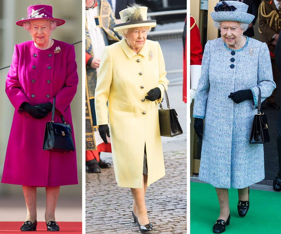 The Queen is known to wear a few different styles of shoes from shoemaker Anello & Davide, but according to Stewart Parvin, who has been the Queen's dressmaker for 11 years, she never has to risk getting blisters when she buys a new pair of shoes.
