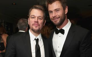 Chris Hemsworth and Matt Damon forced to call paramedics in Byron Bay for Damon's 6-year-old