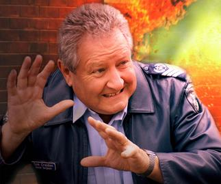 John Wood in Blue Heelers