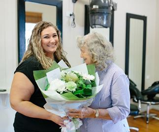 Meet Queensland's hero hairdresser, Shelley Gehrke