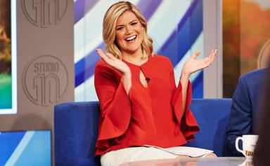 Studio 10 host Sarah Harris is having another boy