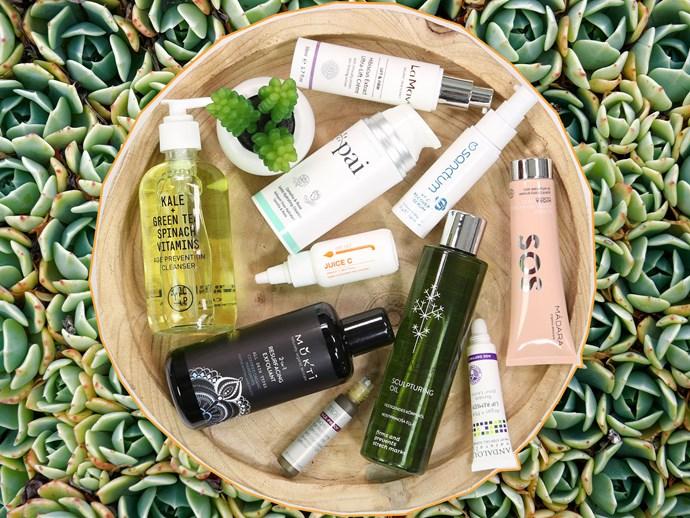 Natural anti-ageing skincare