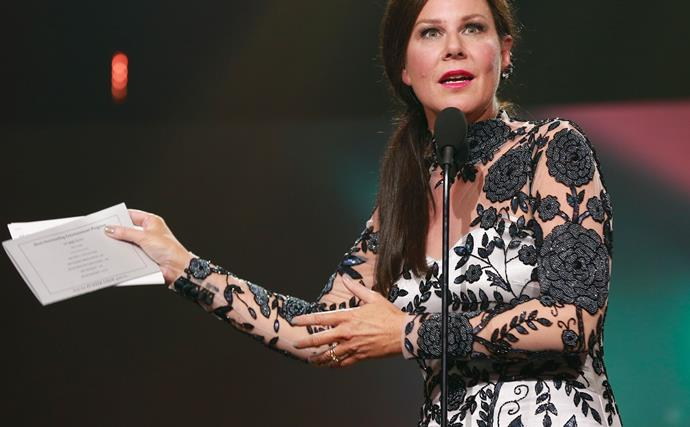 Julia Morris at the TV WEEK Logie Awards
