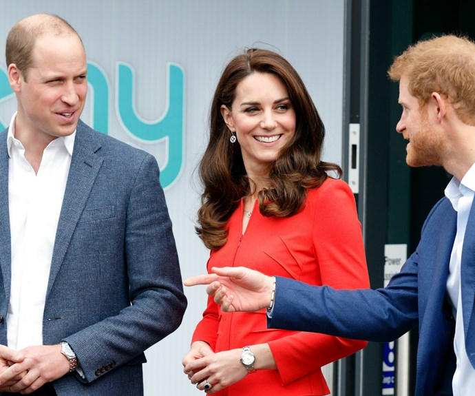 Wills, Harry and Kate has been praised for their honest and down-to-earth campaign.