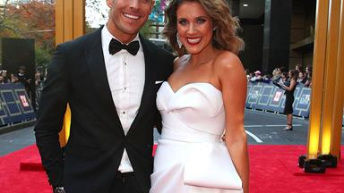 Loved-up at the Logies