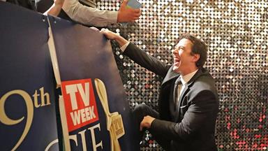 Samuel Johnson awarded the Gold Logie at the 59th TV WEEK Logie Awards
