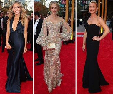 The top 10 best dressed at the 2017 TV WEEK Logie awards