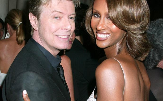 Iman remembers David Bowie on their 25th wedding anniversary