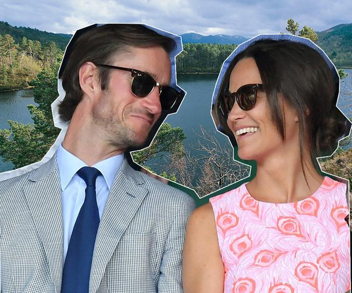 Pippa Middleton James Matthews Scottish honeymoon