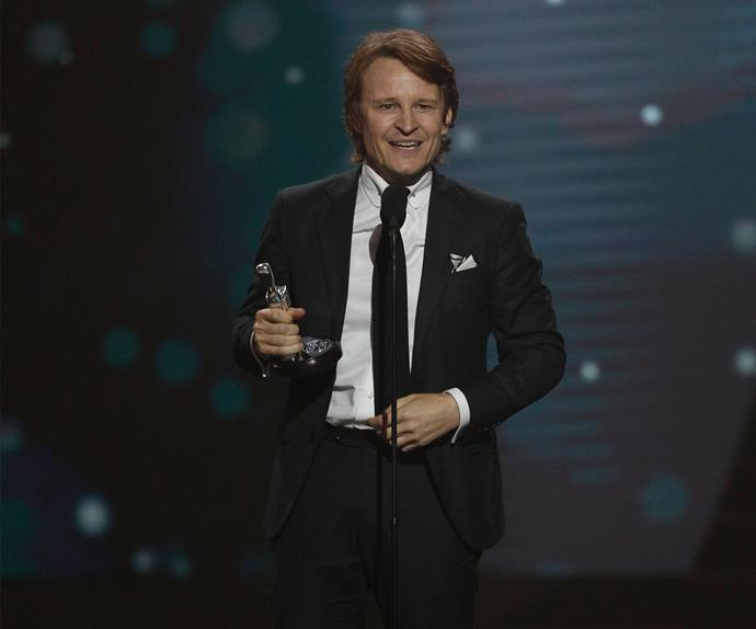 Damon Herriman at the 2017 TV WEEK Logie Awards