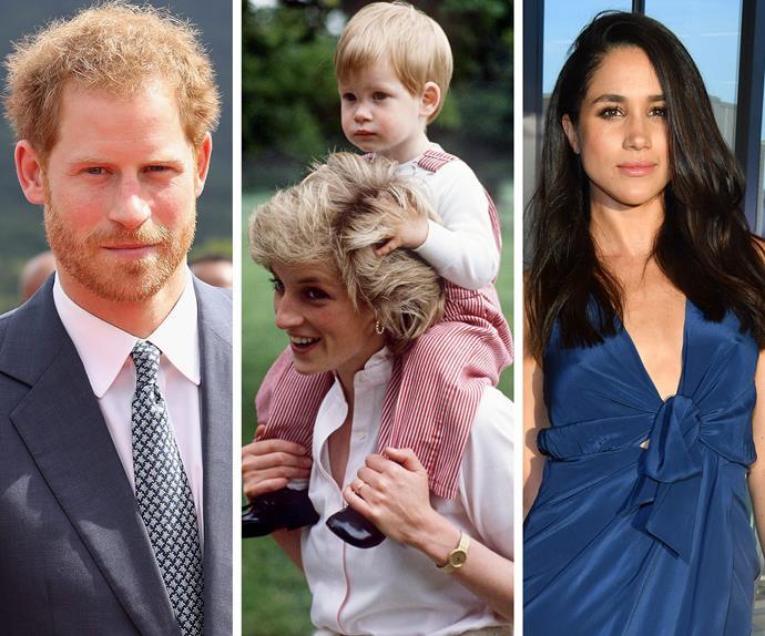 Prince Harry, Meghan Markle, Princess Diana