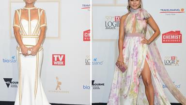 Pastel perfection at the TV WEEK Logie Awards