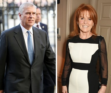 Sarah Ferguson joins forces with Prince Andrew