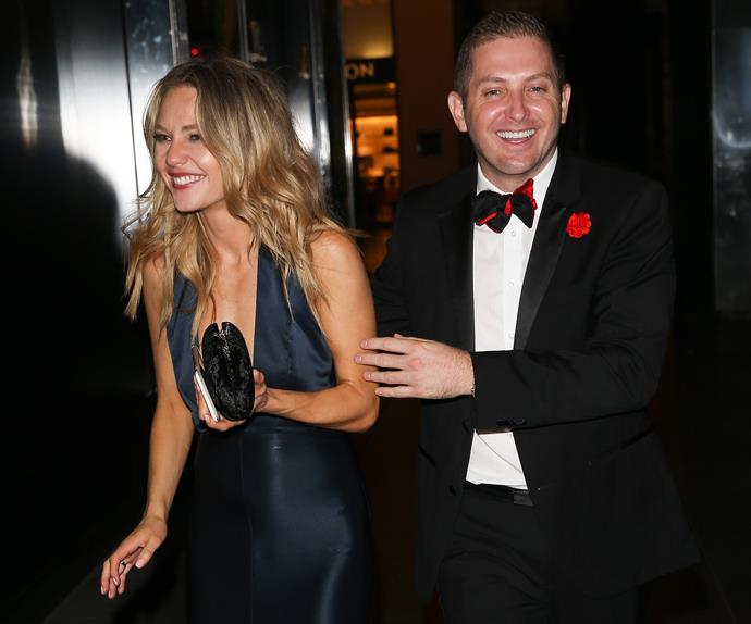 Sam Frost and John Caldwell