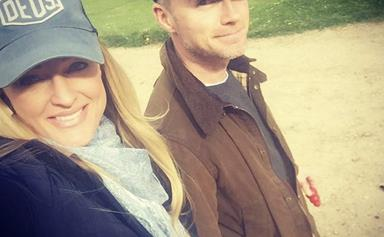 Ronan Keating and wife Storm announce the name of their newborn son with sweet family photo