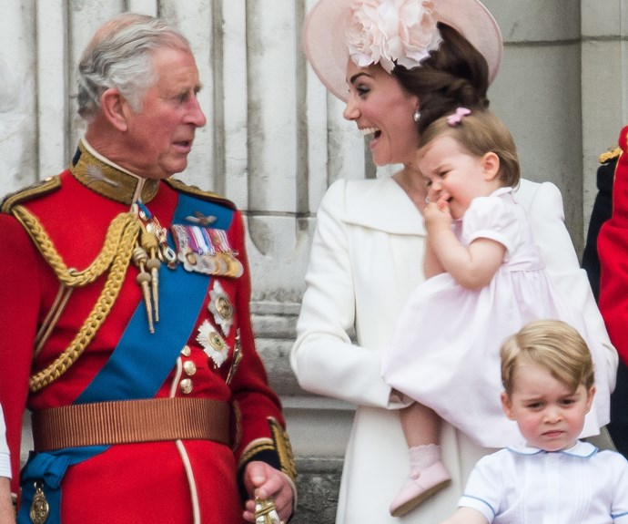 Prince Charles, Duchess Catherine and Prince George